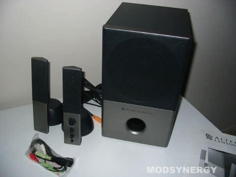 ModSynergy com - Review 93 - Altec Lansing VS4121 2 1 Speaker System