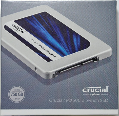 Crucial MX300 3D NAND SSD