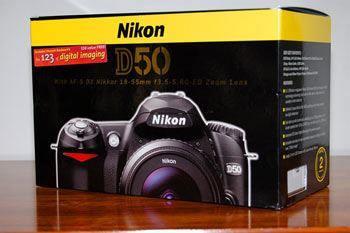 Nikon D50, 18-55mm Kit Digital SLR Camera