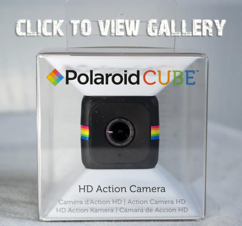 Polaroid CUBE is miniature in every sense of the word. It measures 35mm or  1.4