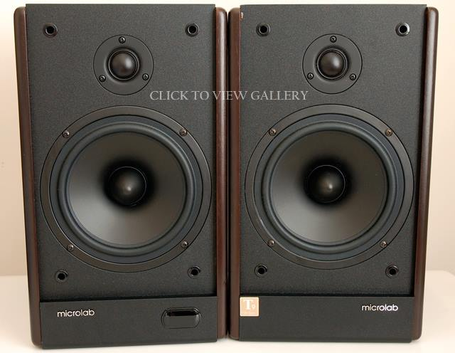 Microlab SOLO-6 Stereo Amplified Speaker System Review